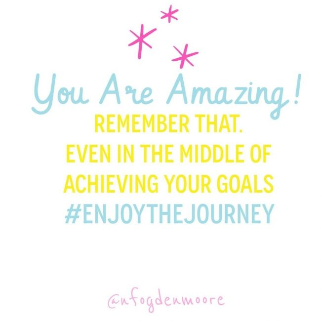 Hey you! I see you! YOU are amazing. :)