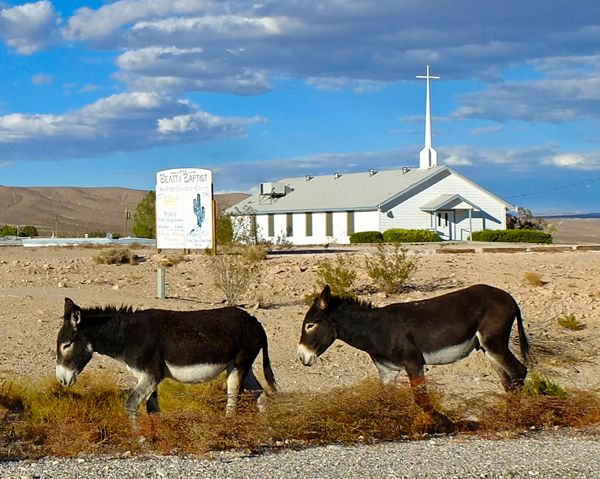 Mary & Joseph, Beatty, NV