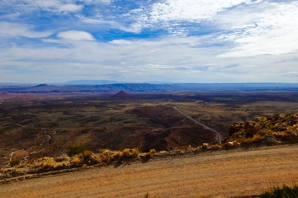 View from the Moki Dugway, UT