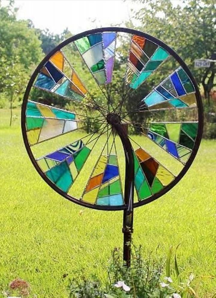 What to do with failed bike wheels.