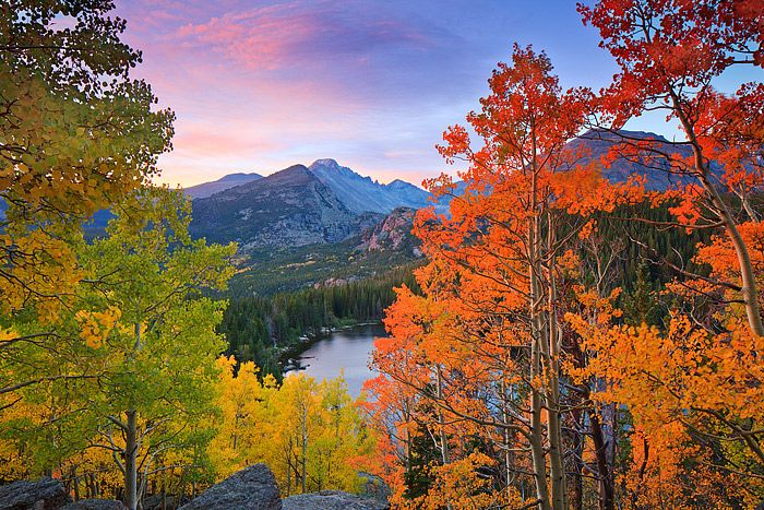 Rocky Mountain Nat'l Park in the fall