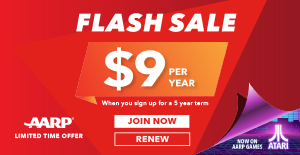 AARP Membership Flash Sale
