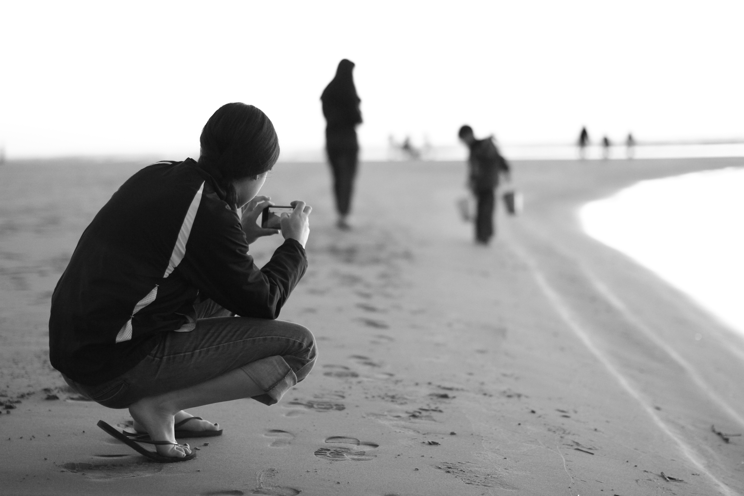 Pictures on the Beach