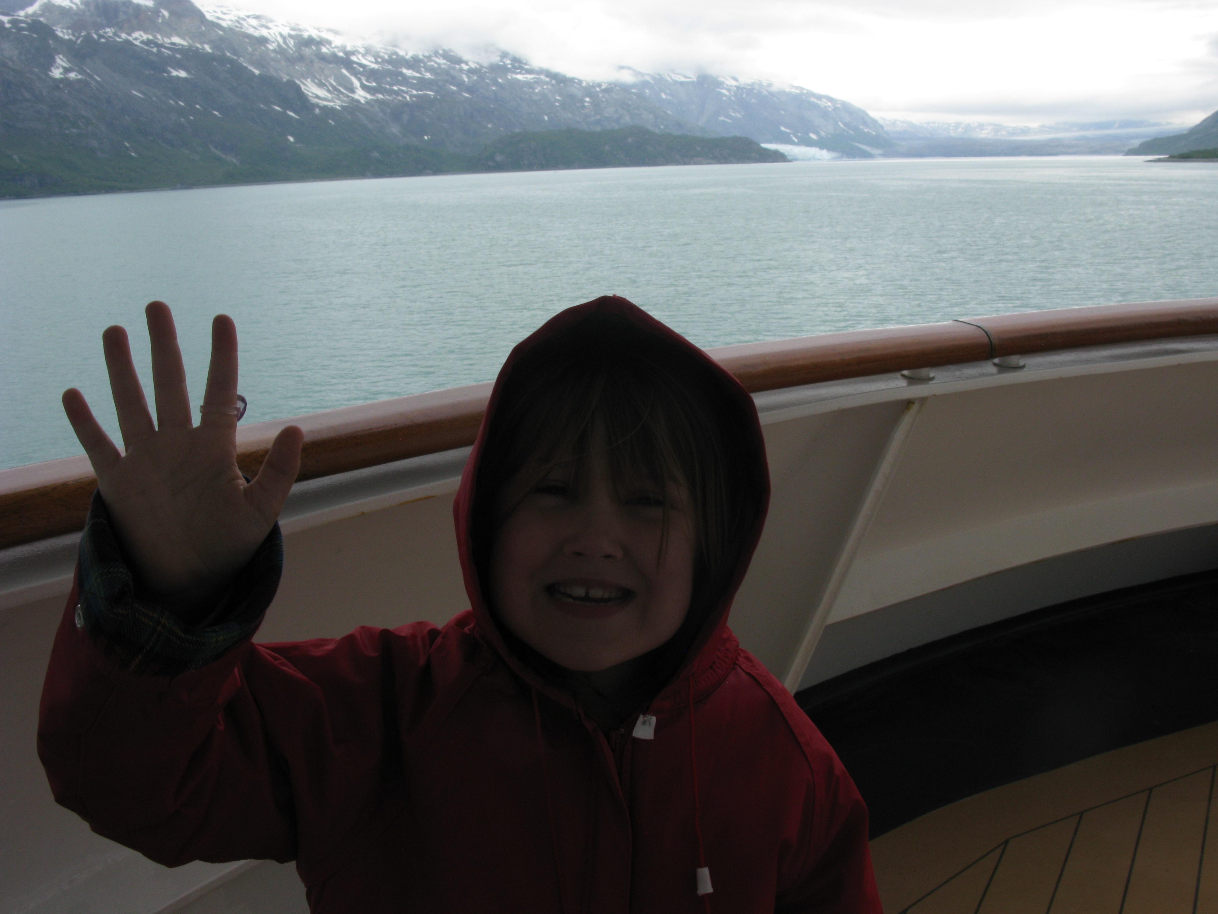 Glacier from an Alaskan cruise