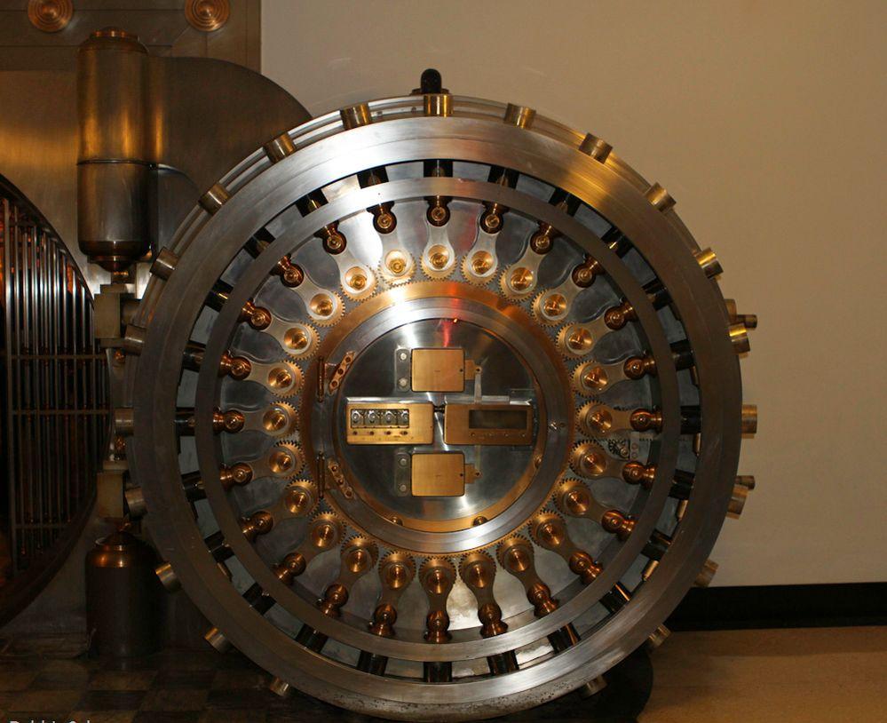 Chicago Board of Trade Vault Lock