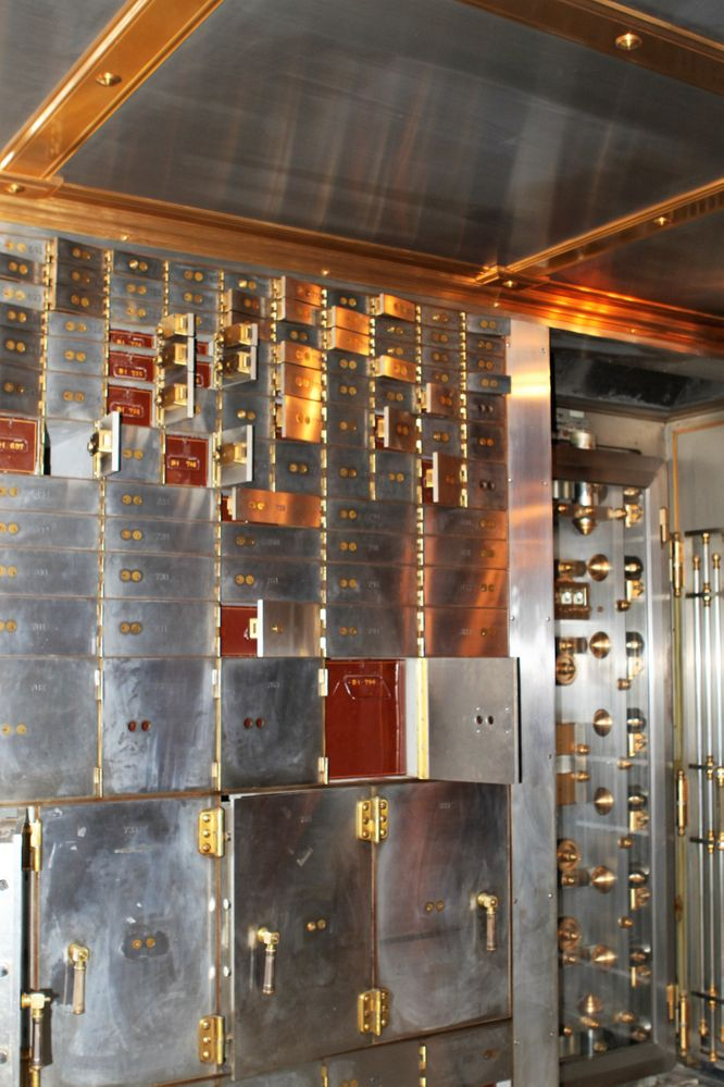 Chicago Board of Trade Safety Deposit Boxes (No longer used)