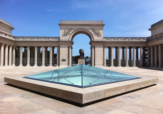 Legion of Honor Courtyard