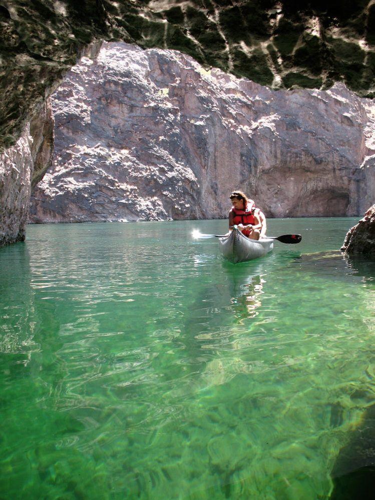 Emerald Cave, Black Canyon near Las Vegas