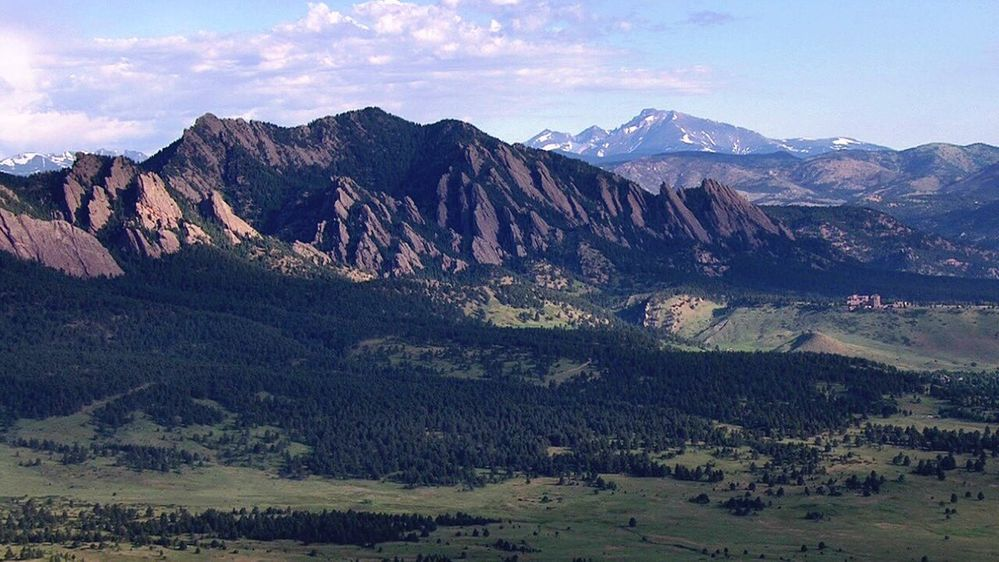 6/27/17 Flatirons and Longs Peak