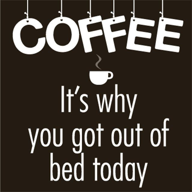 Or maybe it's HOW you got out of bed... :)