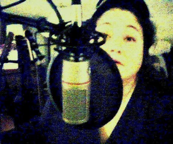 Me (Grace Rene') recording at Eastside Project Studio on the outskirts of Nashville in Antioch, TN.