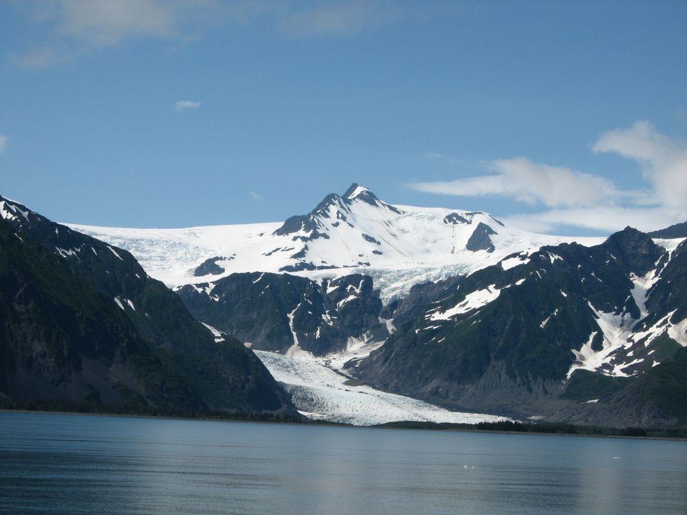 Glacier from Seward Harbor day cruise