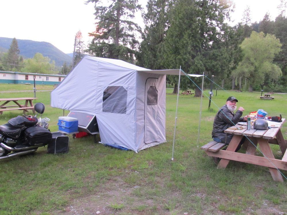 One of our first nights in Alaska