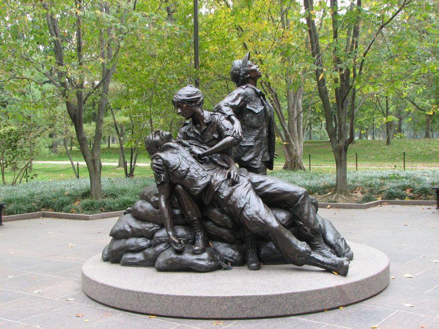 Women's memorial in DC.