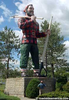 Paul in Bangor 31 foot tall