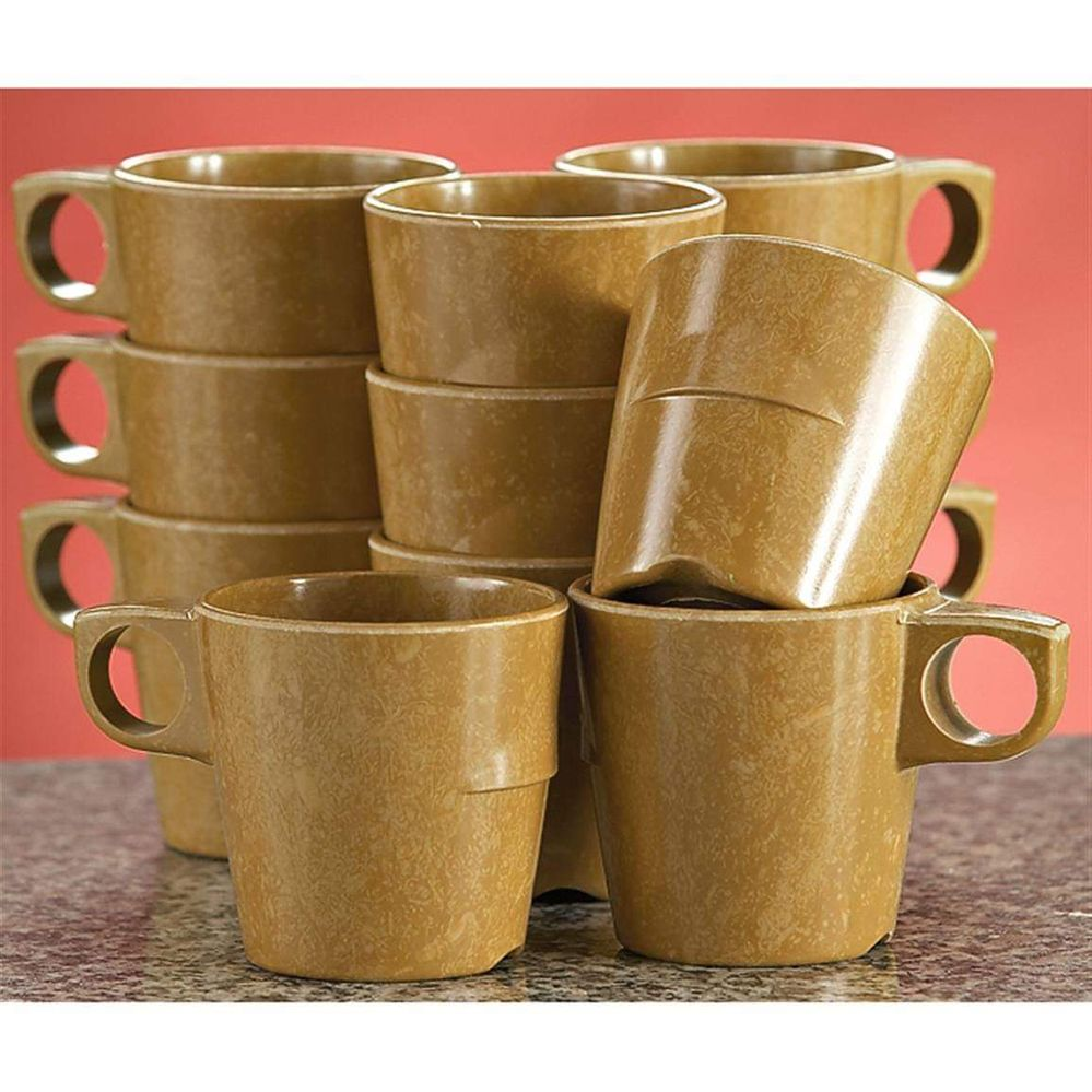 Military mess hall coffee mugs