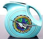 1943 commemorative pitcher of president first airplane