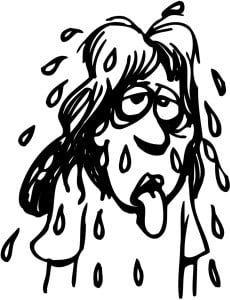 Feels like a wet blanket outside!