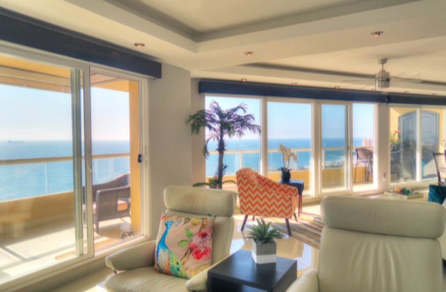 Part of living area to ocean