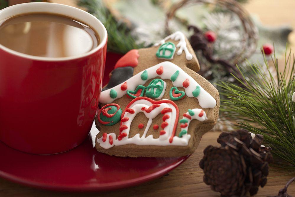 Milk? Heck no, Santa wants coffee!
