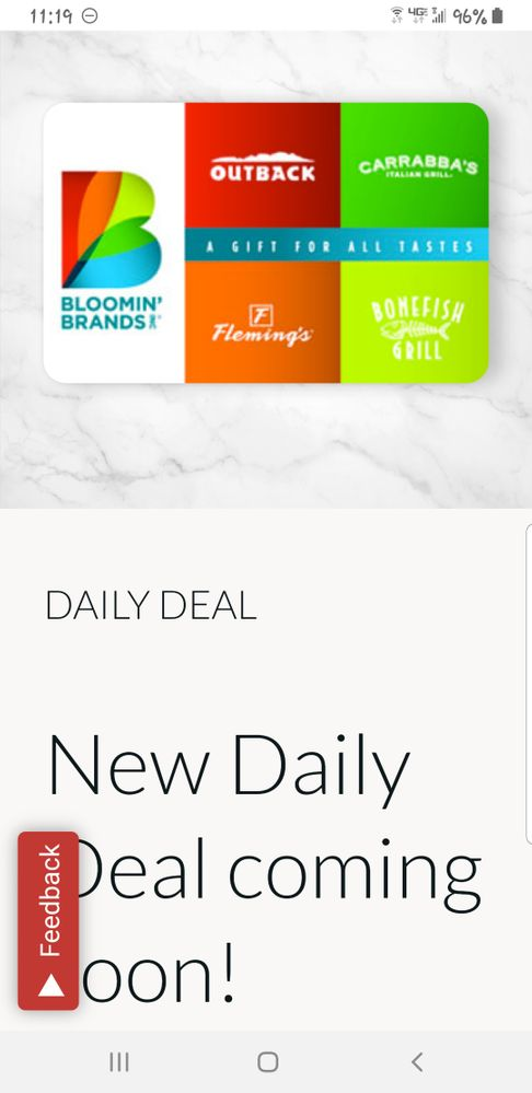 Blooming Brands includes 4 choices