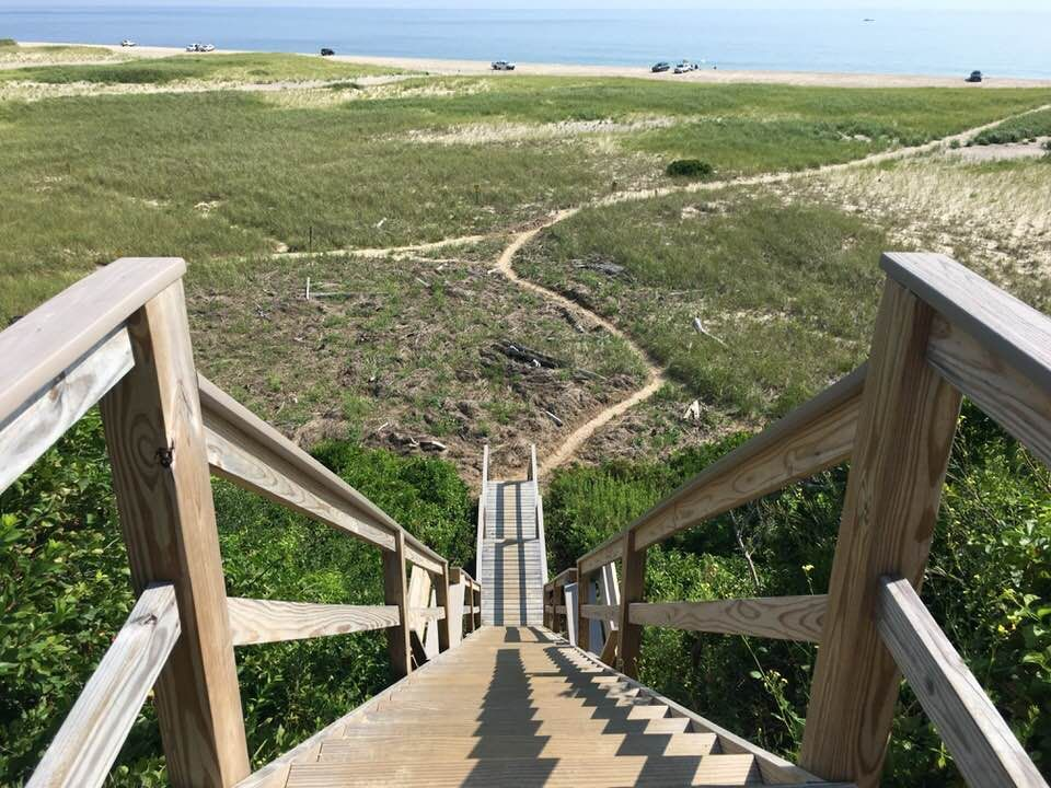 Cape Cod steps to beach.jpg