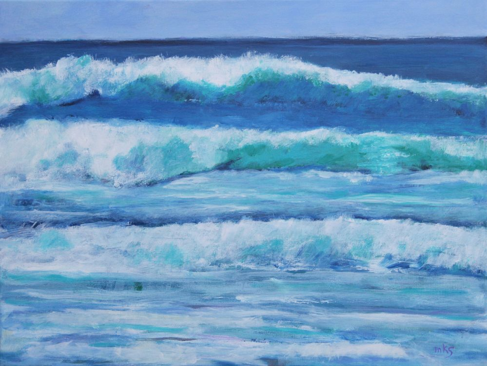 """Going Coastal"" by Mary Kolada Scott"