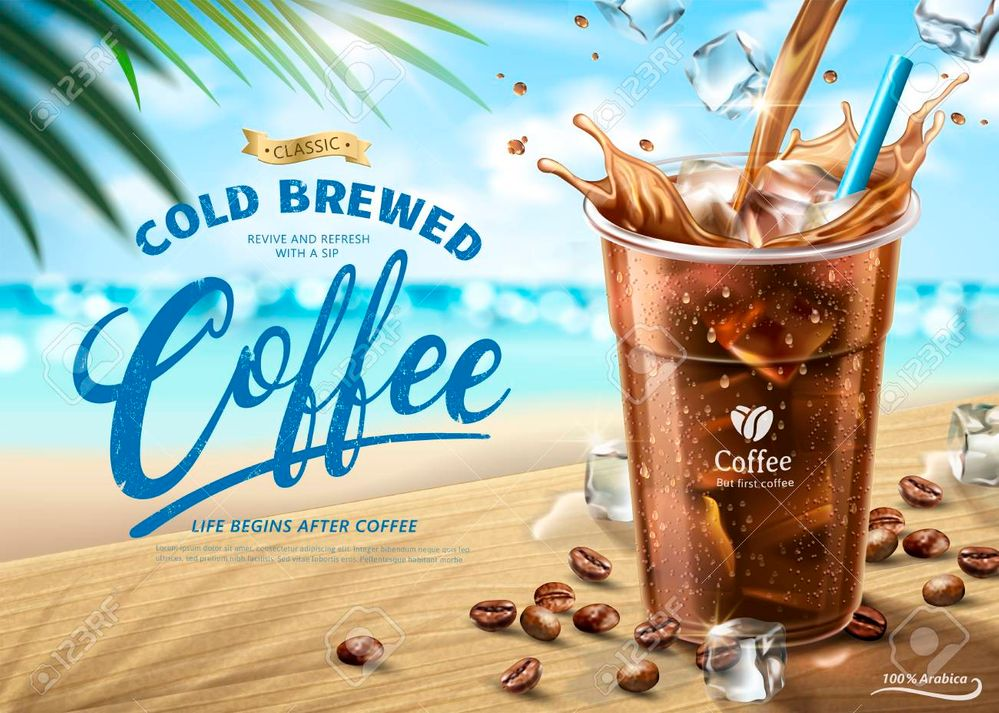 102958625-cold-brewed-coffee-ads-on-hot-summer-beach-scene-in-3d-illustration.jpg