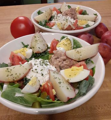Nicoise Salad (my version)