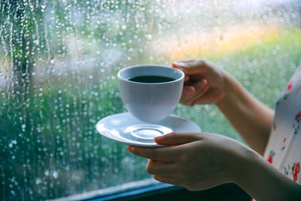 It's raining...time for coffee!