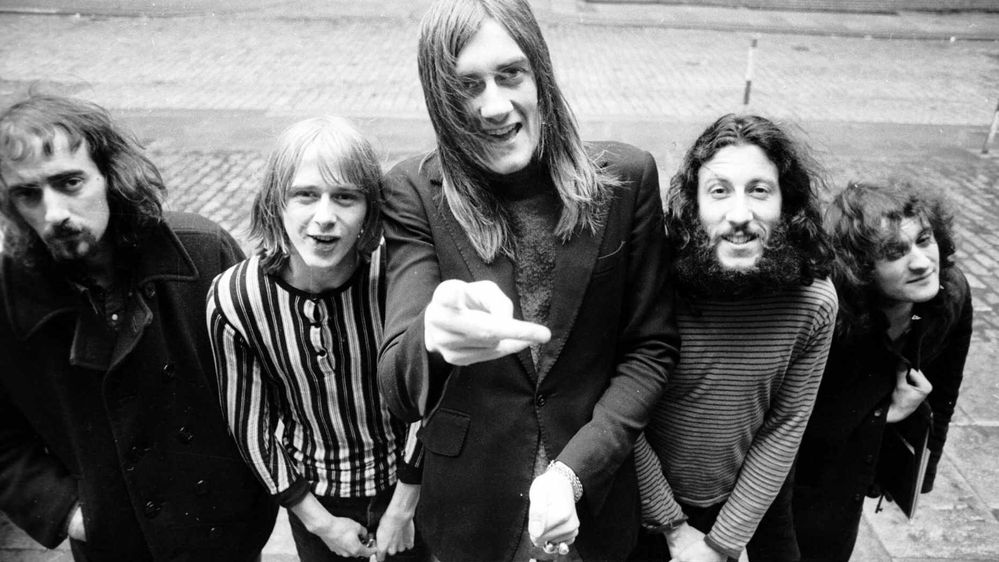 John McVie, Danny Kirwan, Mick Fleetwood, Peter Green, and Jeremy Spencer