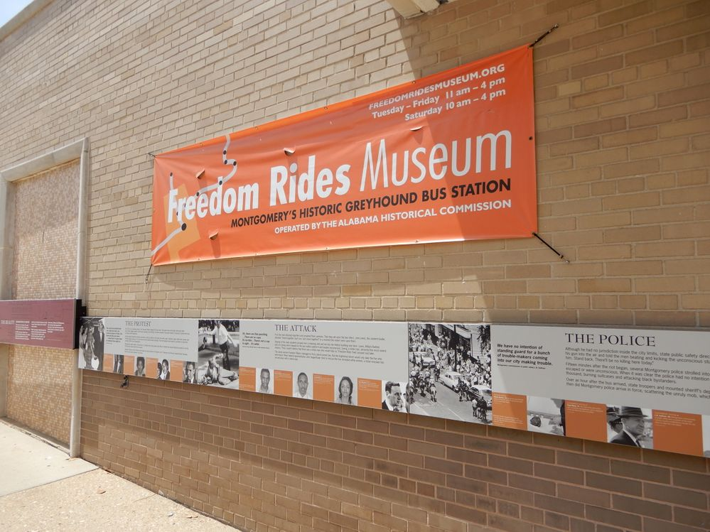 Now  museum to the Freedom Riders
