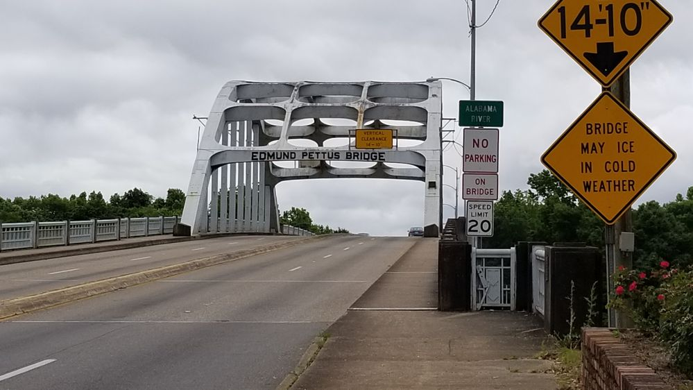 The Edmund Pettis bridge in Selma