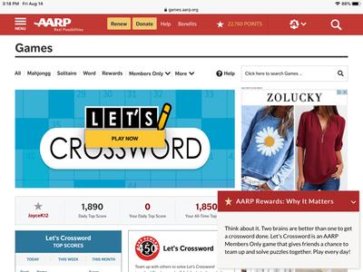 Let's Crossword screenshot