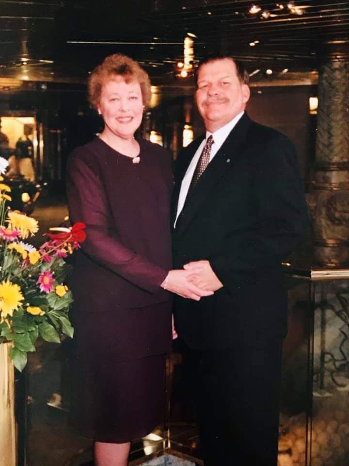 Their 50th wedding anniversary