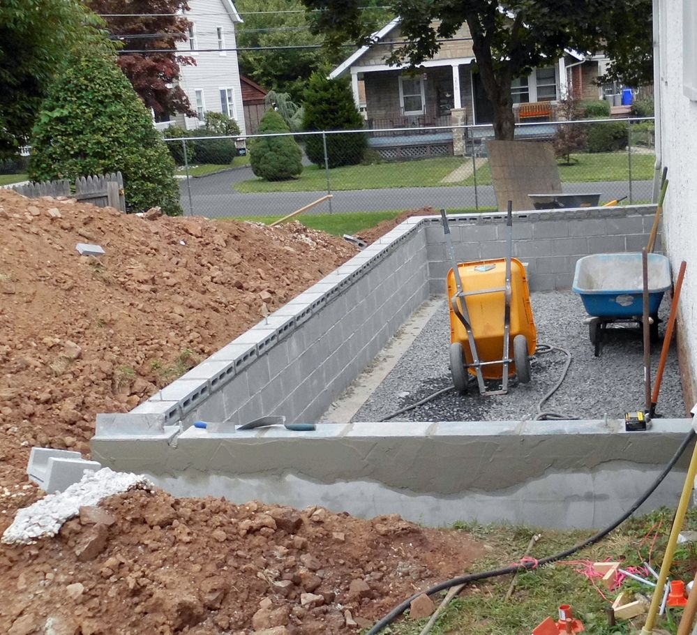 Ready for concrete to be poured tomorrow.