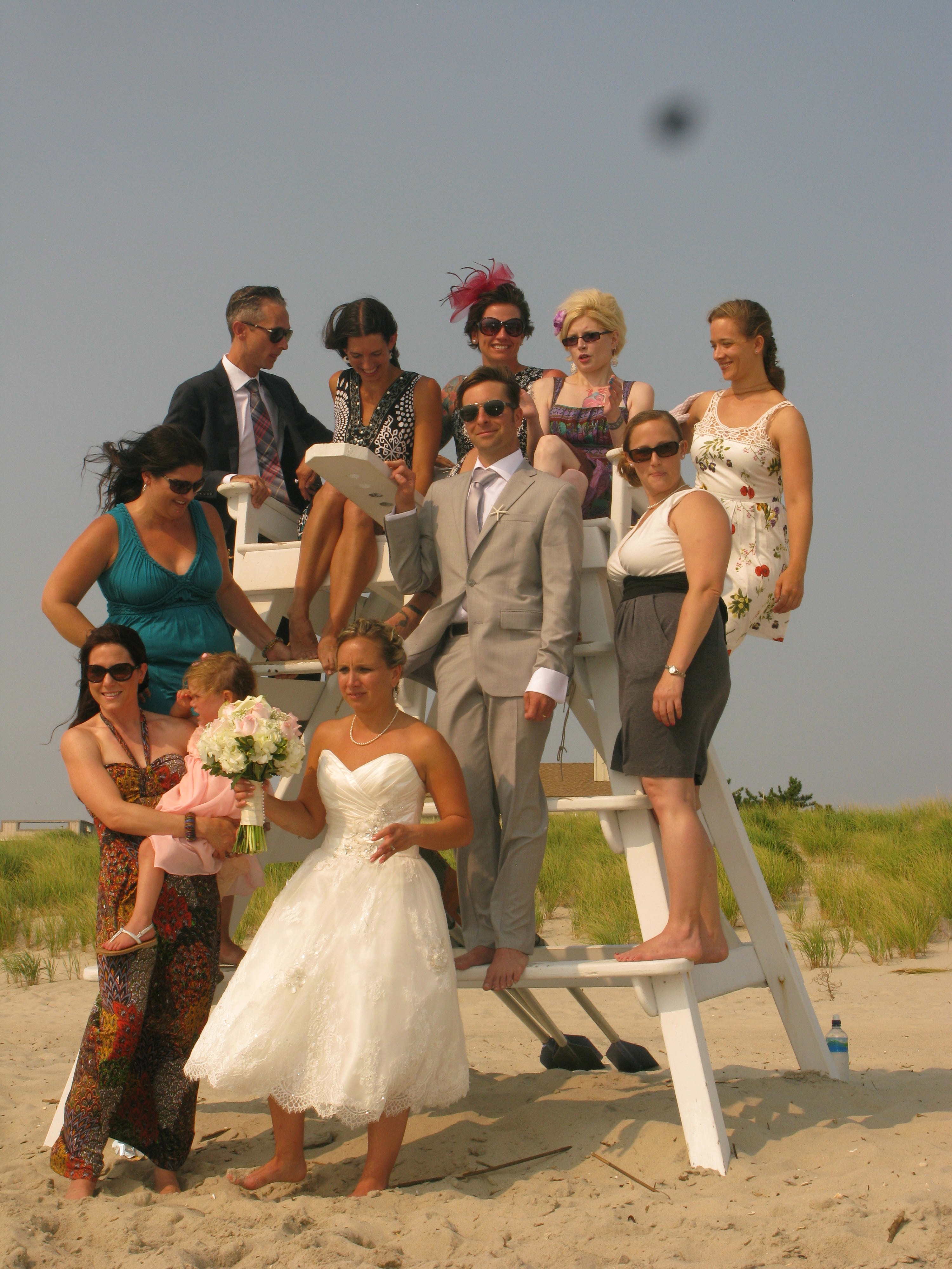All the Cousins at Leigh's Wedding