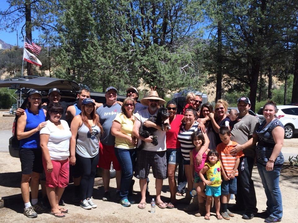 Neighborhood Camping Trip Hurkey Creek