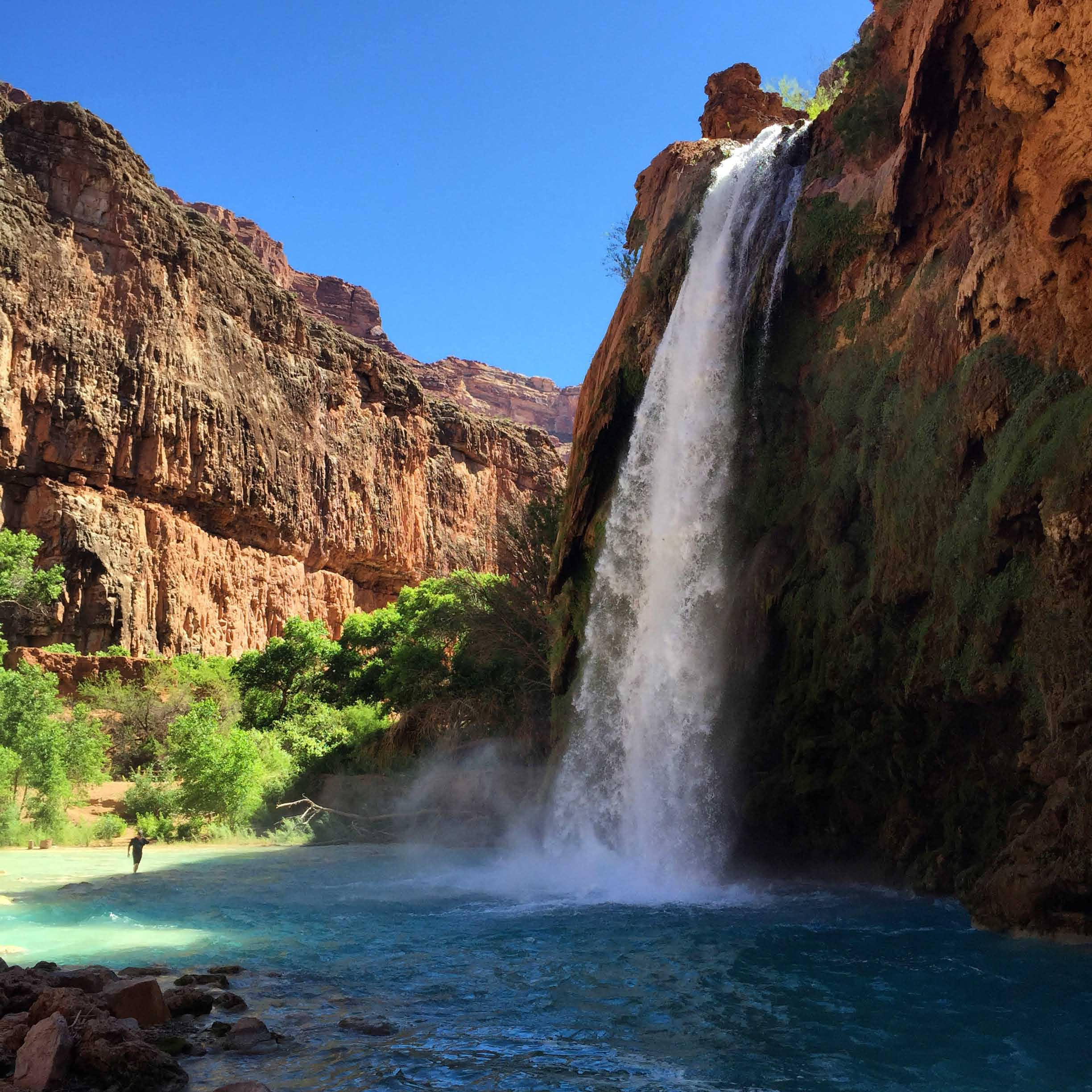 Havasu Falls, The Grand Canyon, AZ