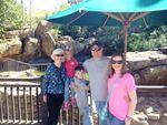 Family at Disneyworld