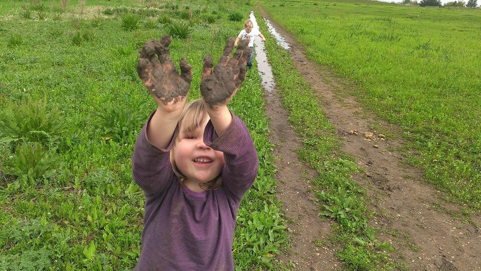 """I love mud"""