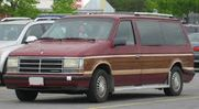 1988 Dodge Caravan with curbside lift