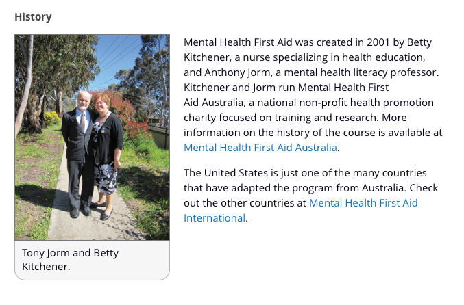 Mental Health First Aid history screenshot.png