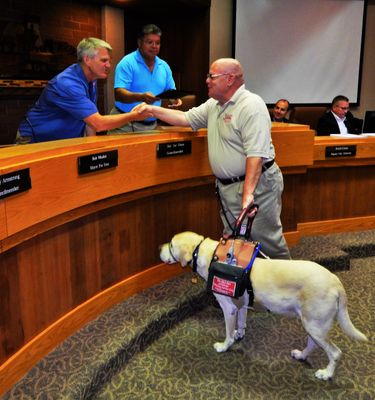 Ed and Alepo at Clovis City Council Meeting for Proclamation.JPG