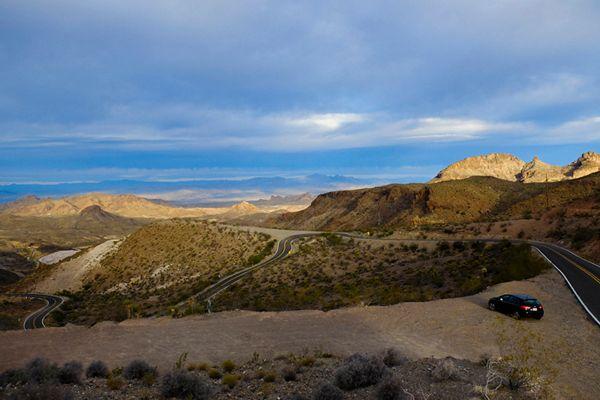 Route 66 between Kingman and Oatman, Arizona
