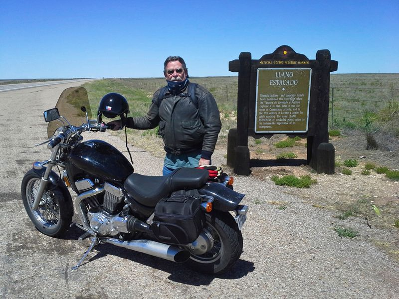 On the Llano Estacado, border of Texas-New Mexico