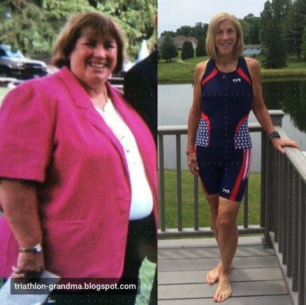 From out of shape to competitive senior athlete