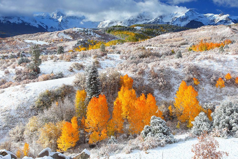 Fall Snow in the Rockies ... yes, please!