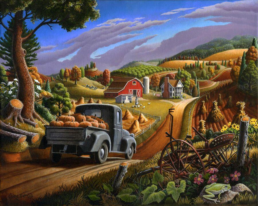 thankgiving-rural-country-farm-life-halloween-pumpkins-landscape-folk-art-pumpkin-americana-scene-walt-curlee.jpg