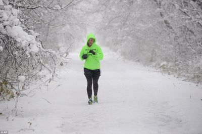 Exercising outside in the cold is good for your immune system.